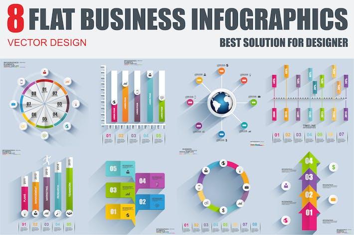 Thumbnail for Flat Infographics