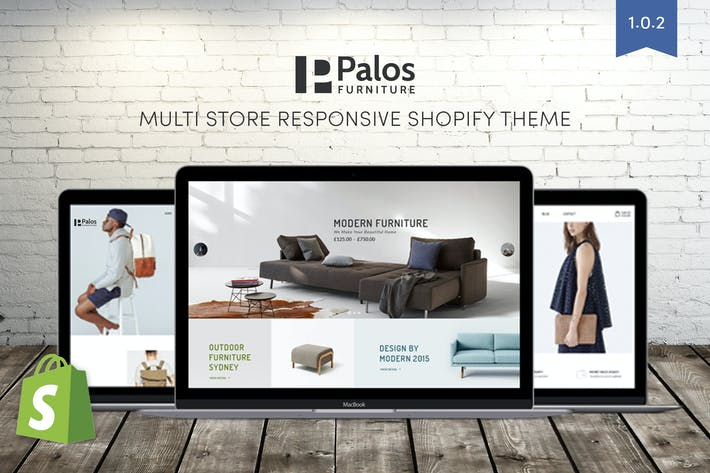 Thumbnail for Palos | Multi Store Responsive Shopify Theme