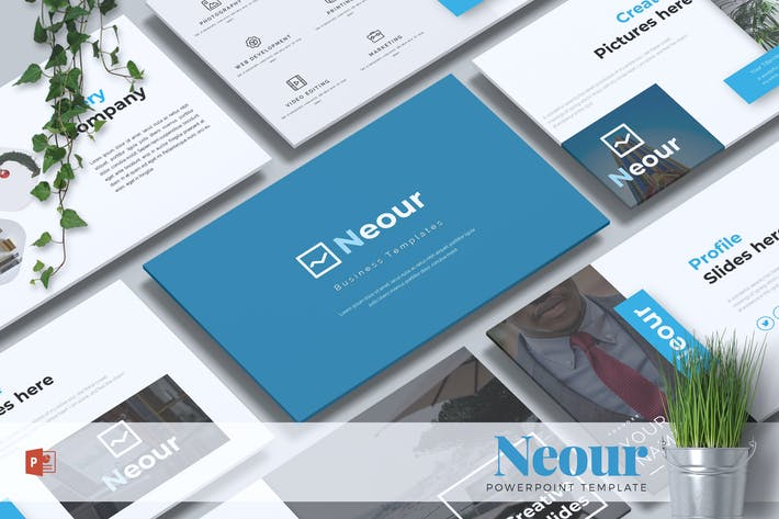 Thumbnail for NEOUR - Business Powerpoint Template