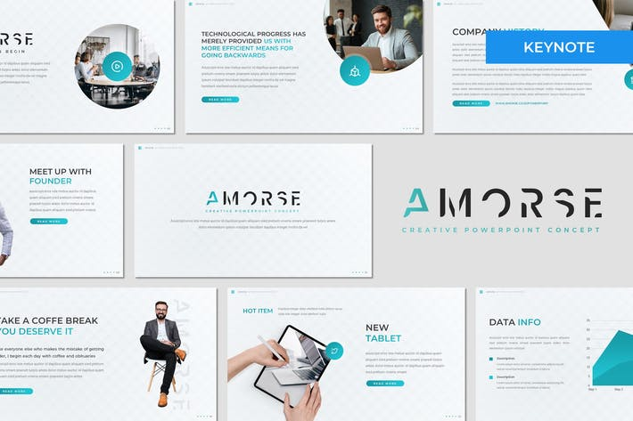Thumbnail for Amorse - Business Keynote Template