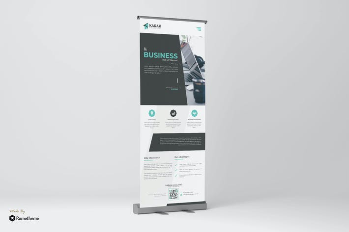 Thumbnail for Company - Roll-up Banner Template TS
