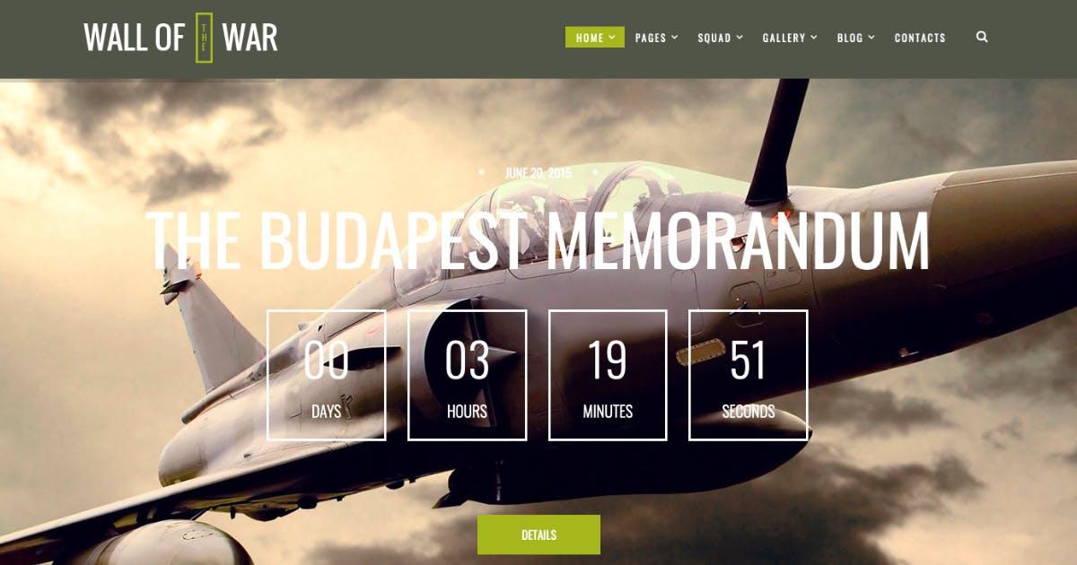 Download Military Service & Veterans WordPress Theme by AncoraThemes