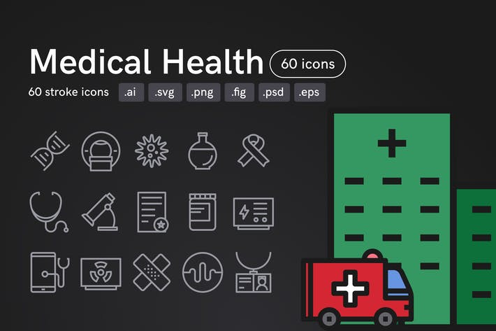 Thumbnail for Medical Health Icons