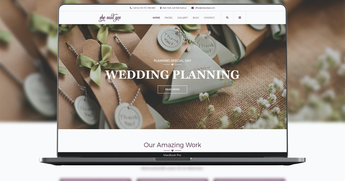 Download SheSaidYes - Engagement & Wedding by modeltheme