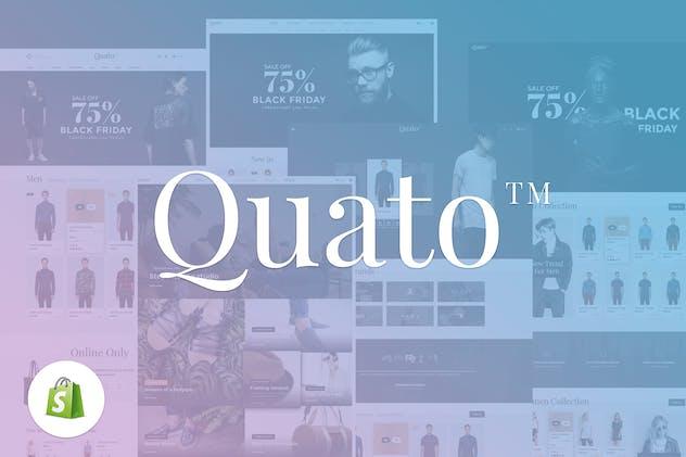 Quato | Responsive Shopify Theme