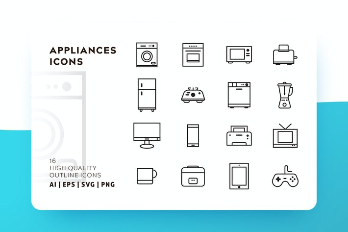 267 Vector Icons Compatible with Adobe Photoshop and