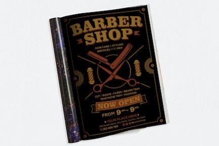 Barbershop #01 Ads Magazine