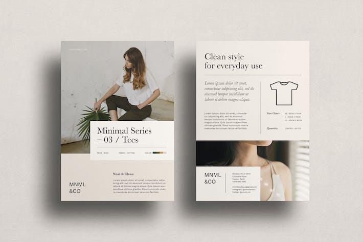 Thumbnail for MINIMAL SERIES 03 - Fashion Flyer