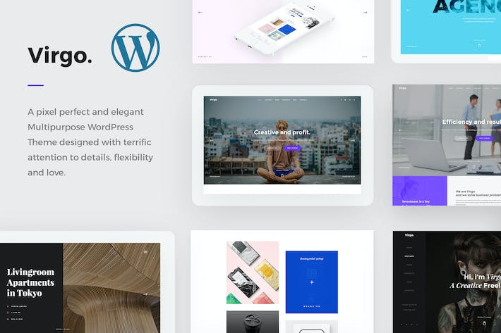 Thumbnail for Virgo. - Multipurpose WordPress Theme