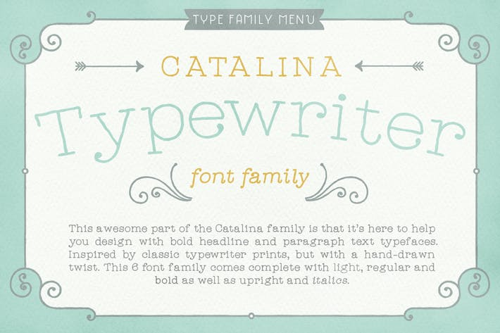 Thumbnail for Catalina Typewriter