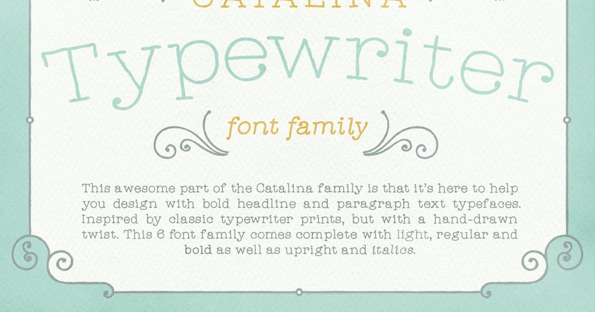 Download Catalina Typewriter by kimmydesign