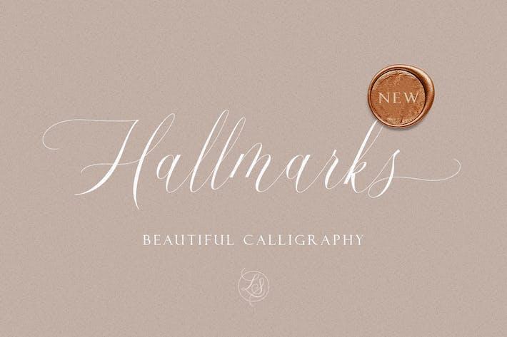 Hallmarks - Hermosa Caligrafía