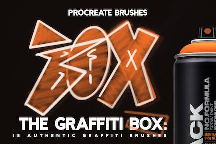 The Graffiti Box: Pinceles Procreate