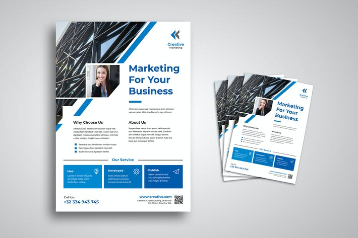 Thumbnail for Marketing and Business Flyer