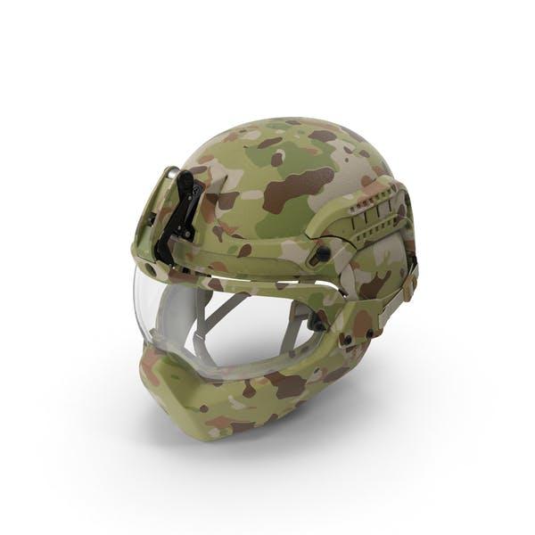 Шлем для лицевой брони