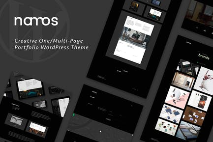 Namos - Creative One/Multi-Page Portfolio WordPres