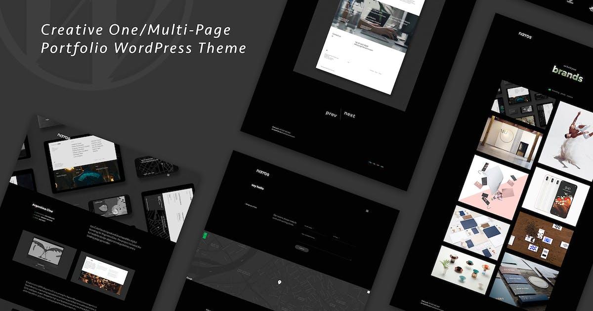 Download Namos - Creative One/Multi-Page Portfolio WordPres by OceanThemes