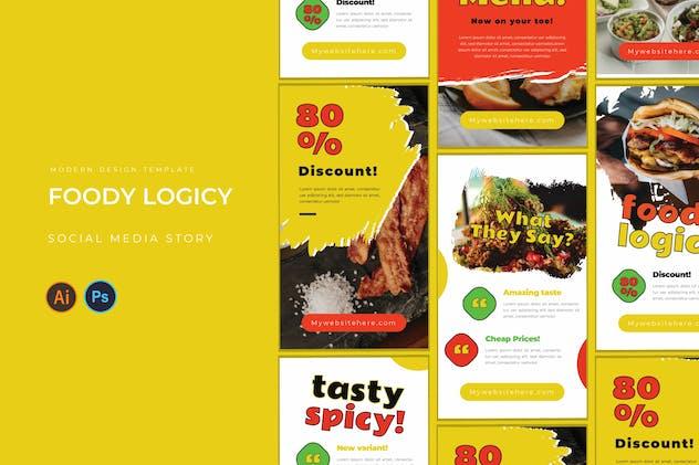 Foody Logicy Instagram Story