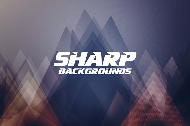 Abstract Sharp Backgrounds