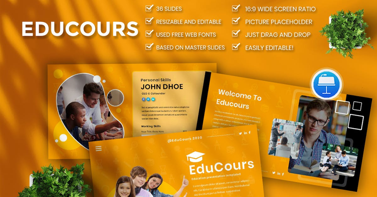 Download Educourse Business Keynote by kidsdesign