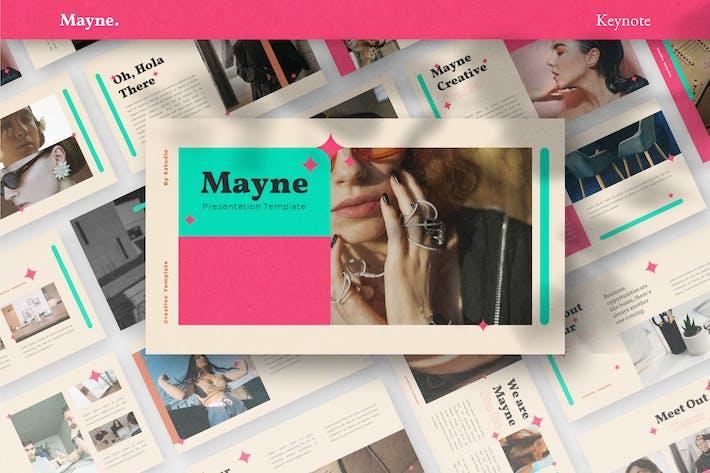 Thumbnail for Mayne - Keynote Template