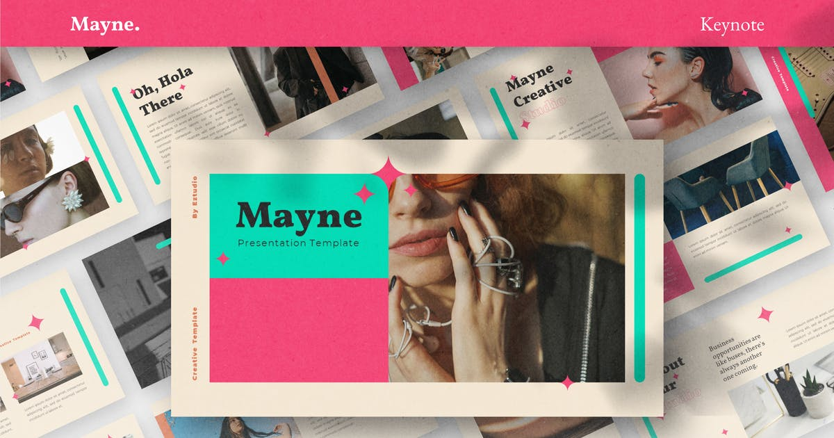 Download Mayne - Keynote Template by eztudio