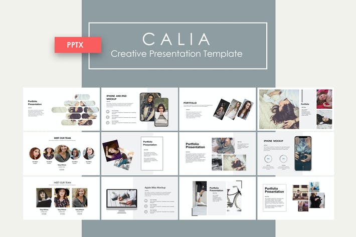 Thumbnail for Calia | PowerPoint Template