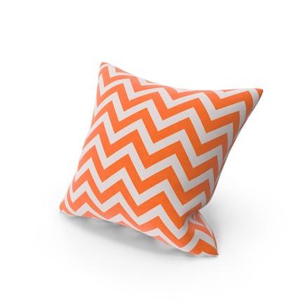 Оранжевая полоса бросить подушку