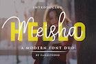 Meisha - Script Font