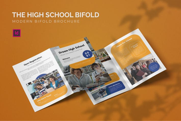 High school - Bifold Brochure
