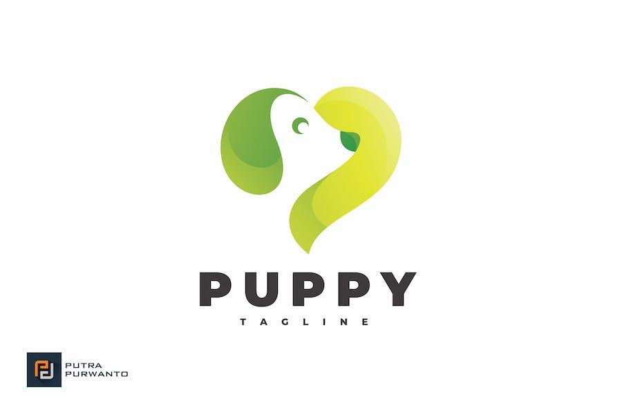 Puppy Dog Love - Logo Template