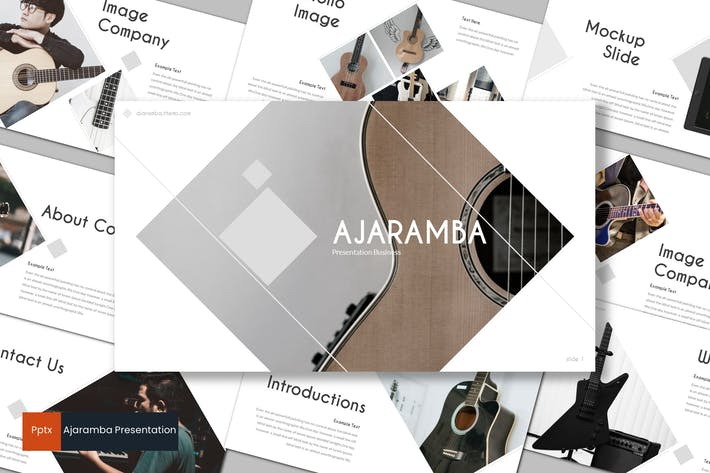 Thumbnail for Ajaramba - Powerpoint Template