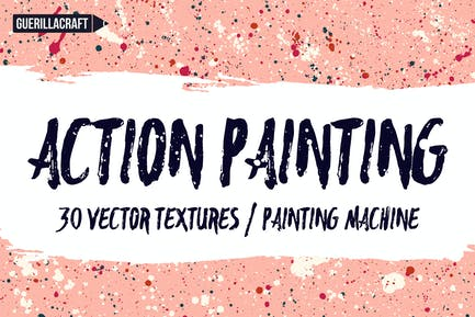 Action Painting Textures