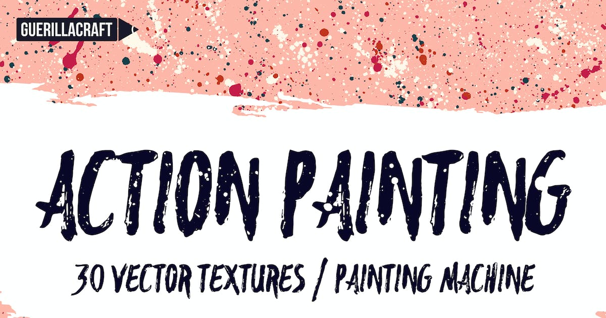 Action Painting Textures by guerillacraft