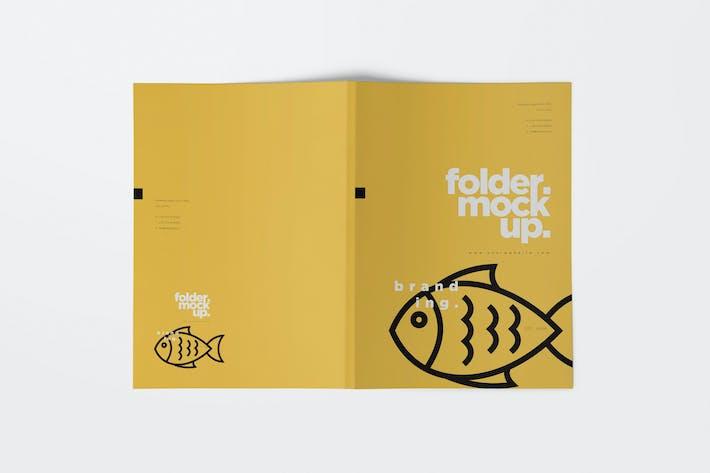 Thumbnail for Folder Mockups