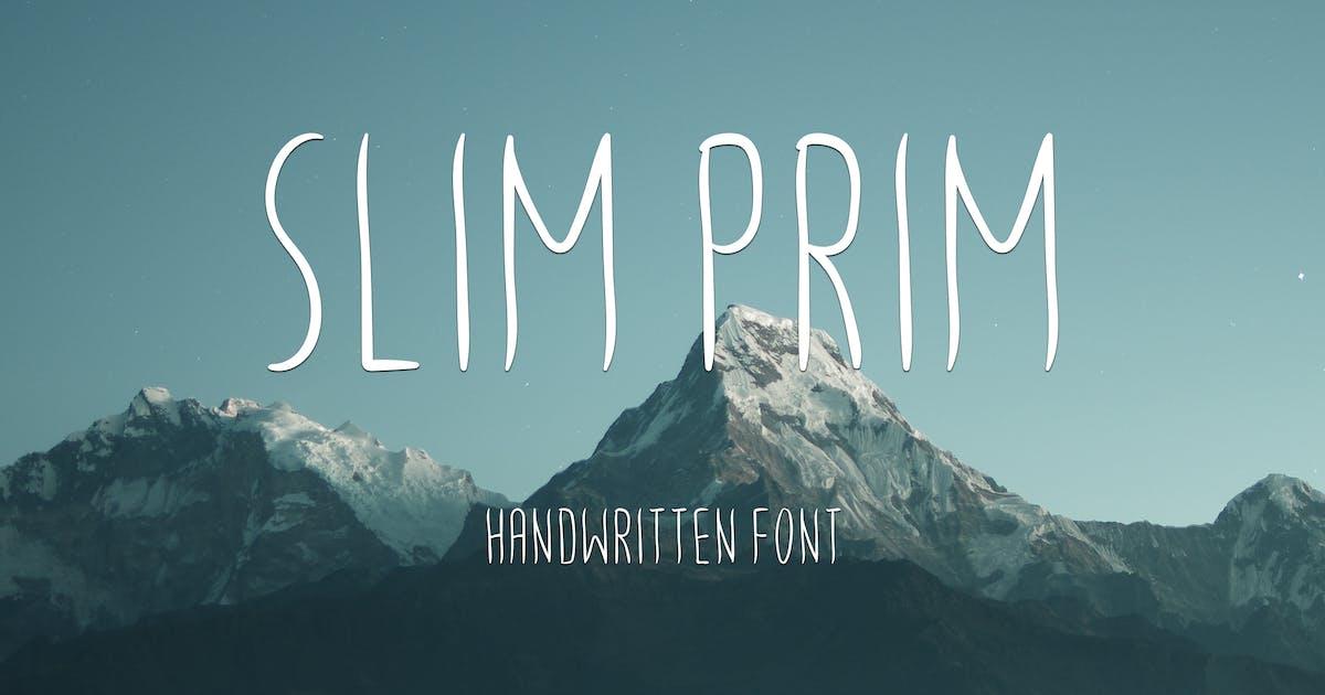 Download Slim Prim Font by AurJas