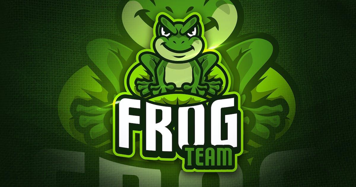 Download Frog Team - Mascot & Esport Logo by aqrstudio