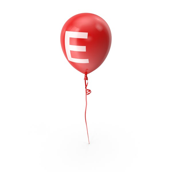 Cover Image for Letter E Balloon