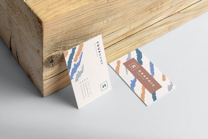 Mytemp - Watercolor Business Card