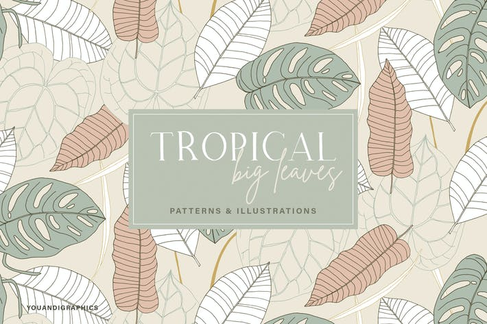 Thumbnail for Big Leaves - Tropical Patterns