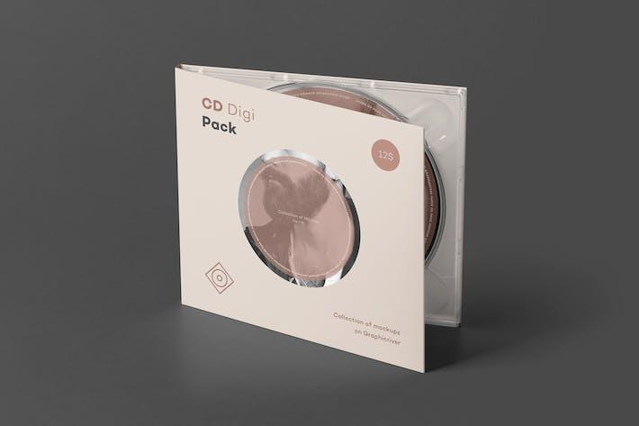 Thumbnail for CD Digi Pack Mock-up 2