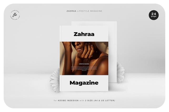 Thumbnail for Zahraa Lifestyle Magazine