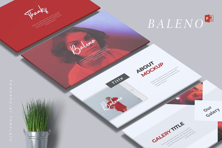 Thumbnail for BALENO - Creative Powerpoint Template
