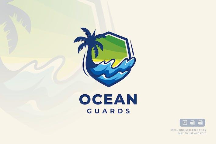 Thumbnail for Ocean Guard - Logo Design Template