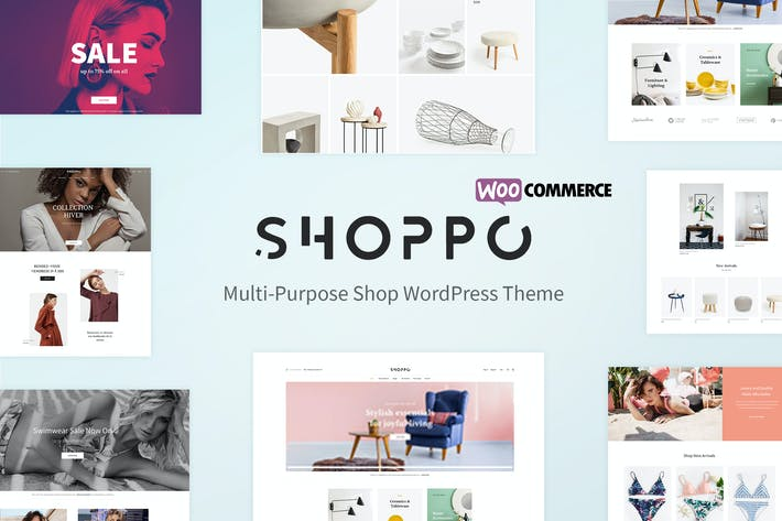 Cover Image For Shoppo - Multipurpose WooCommerce Shop Theme