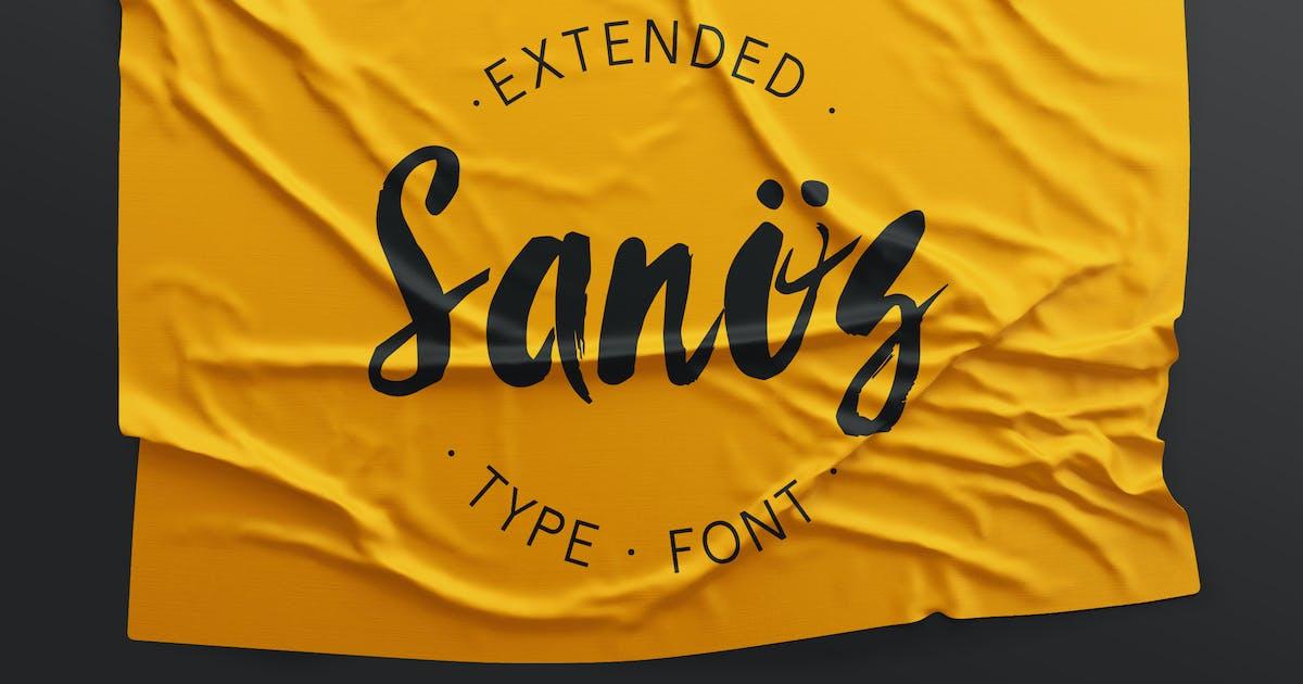 Download Sanös Extended Script Font by WildOnes