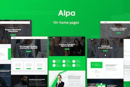 Alpa | Responsive Multipurpose HTML5 Template
