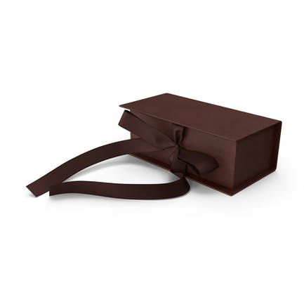 Box Bow Relief Brown