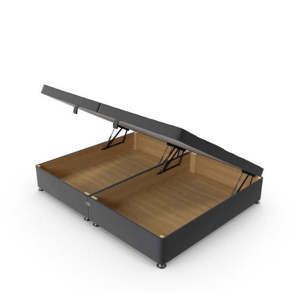 Cover Image for Bed Base Open Charcoal