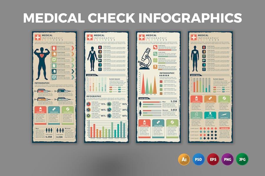 Medical Check – Infographics Design